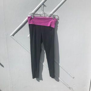 PINK Victoria's Secret Pants - VS PINK Sparkle Logo Yoga Pans [Small]